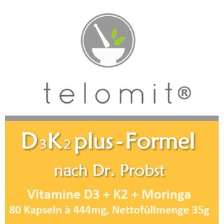 telomit® D3K2plus-Formel