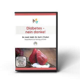 German DVD: Diabetes, nein Danke!